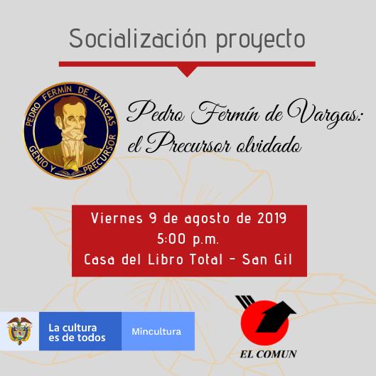 Invitación socialización proyecto